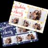 Classy-Polka-Dots 4x6 postcard photobooth template