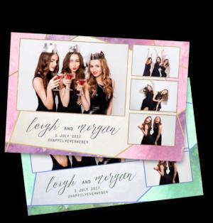 Gemetric Gems Photobooth template