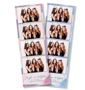Geometric Gems Photobooth Strips