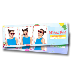 Summer Cocktail Party - Portrait Strips