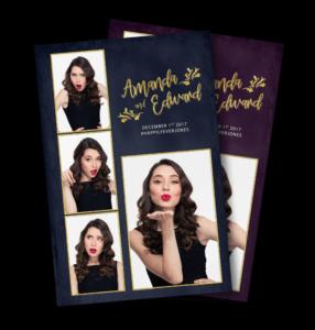 Bling & Glam Portrait Postcard