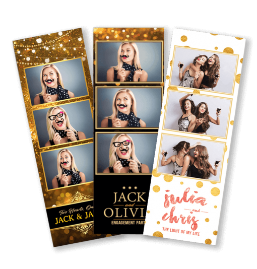 Glitter & Gold Template Set