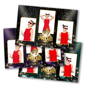 Prom Night Glitz Photobooth Template