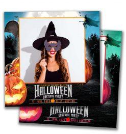 Spooky Halloween Square