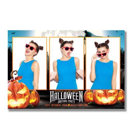Spooky Halloween Photobooth Template