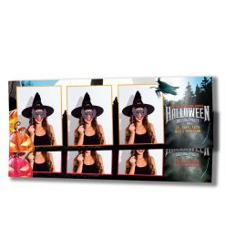Spooky Halloween Mirror Booth Strips