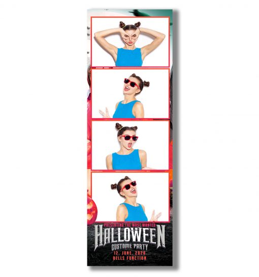 Halloween 4 Strip Template