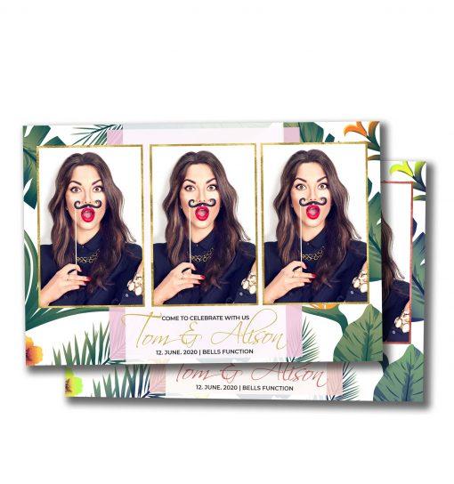 Tropical Paradise Portrait Postcard