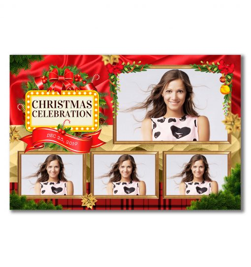 All Wrapped Up Postcard Template