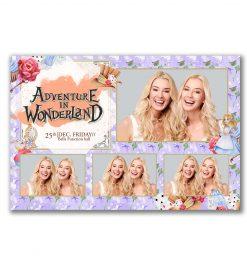 Adventure in Wonderland 4 Photo Postcard