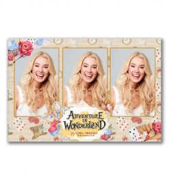 All Wrapped Up Portrait Postcard Photobooth Template