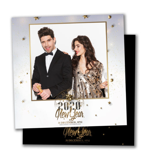 Classy NYE Square Template