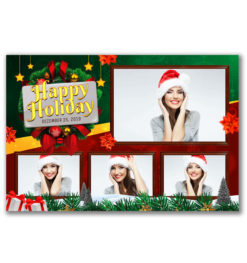 Holiday Cheer Postcard Template